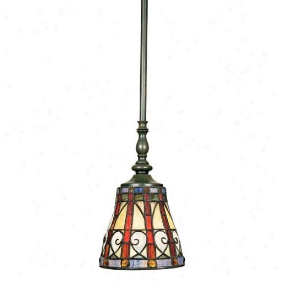 Tfav165b - Quoizel - Tfav156vb > Tiffany Style Pendants