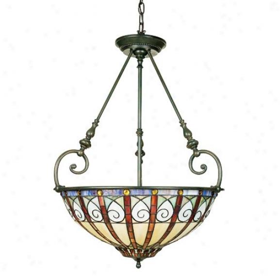 Tfav2823vb - Quoizel - Tfav2823vb > Tiffany Style Pendants