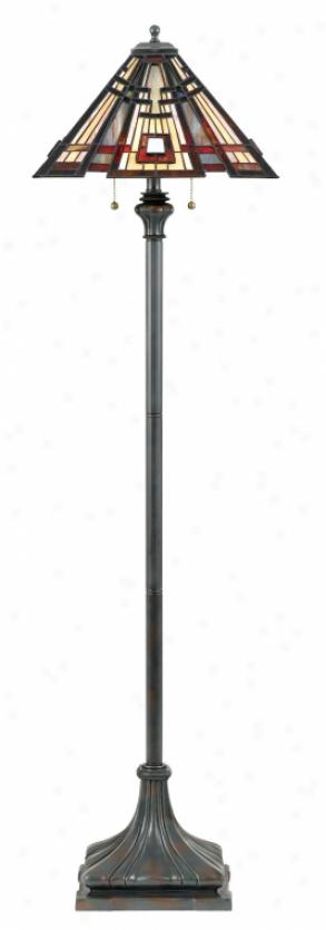 Tfcc9362va - Quoizel - Tfcc9362va > Tiffany Style Flooe Lamps