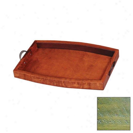 2 Day Designs Decorative Wine Stave Serving Tray