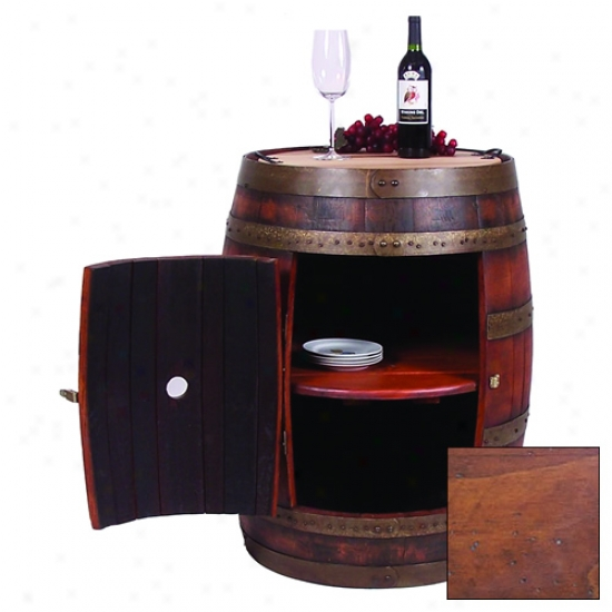 2 Day Designs Full Barrel Cabinet