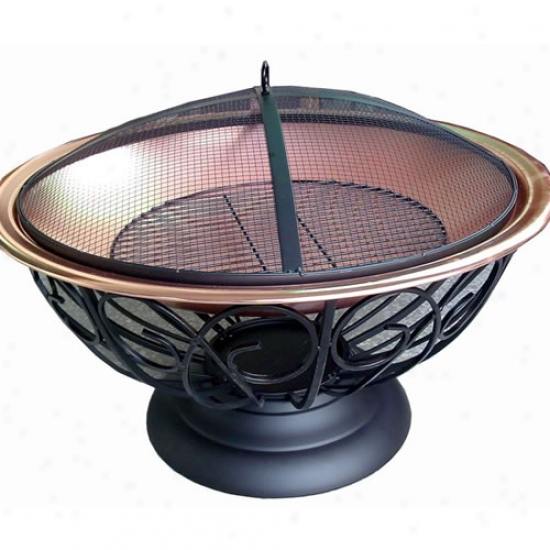 30  Copper Bowl Firepit