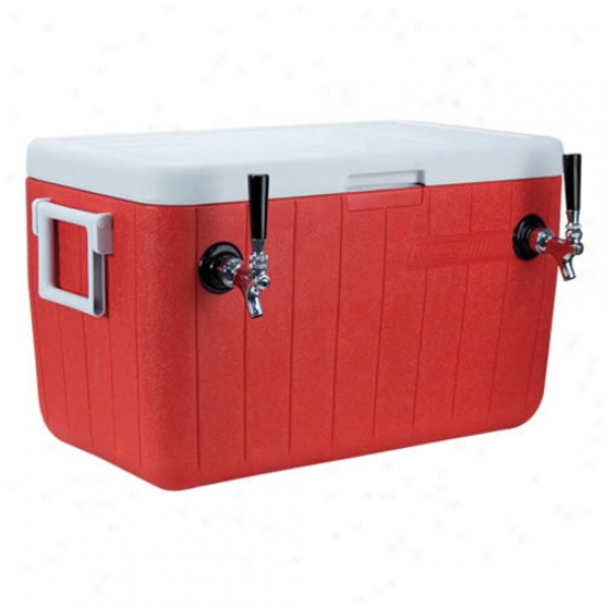 48 Quart 2 Fauce tRed Jockey Box Coil Cooler