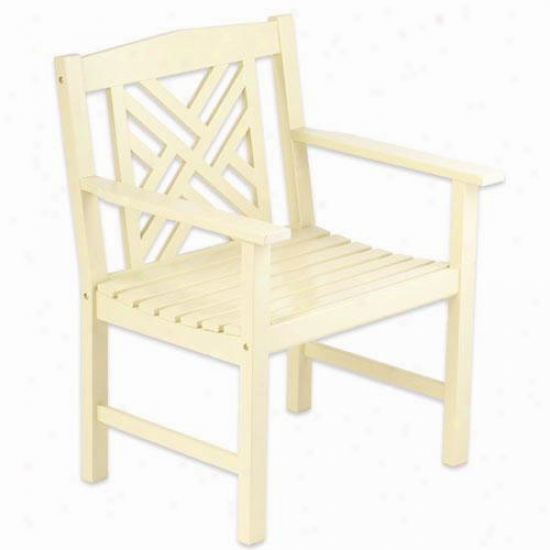 Achla Ivory Fretwork Seat of justice