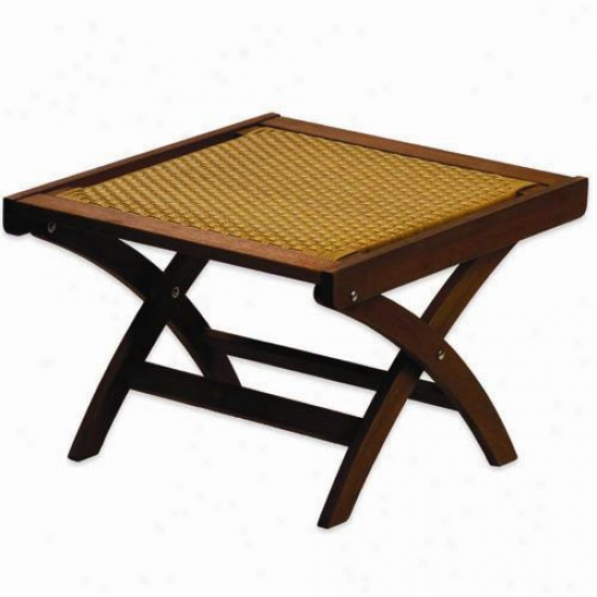 Achla Poly Weave Campeche Table