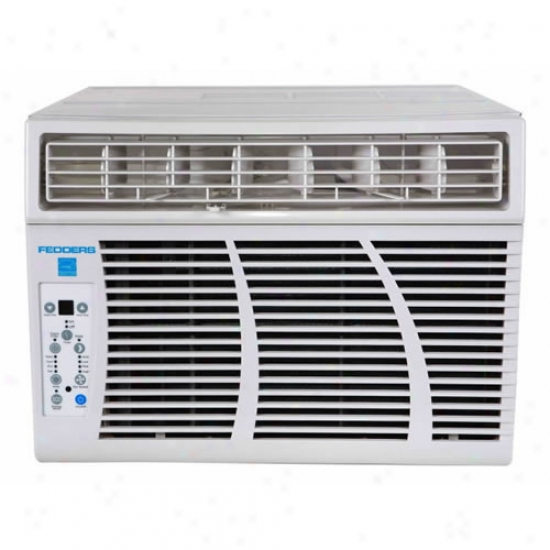 Airwell Fedders 8,000 Btu Cool/3,500 Btu Heat 115-volt Window Ac