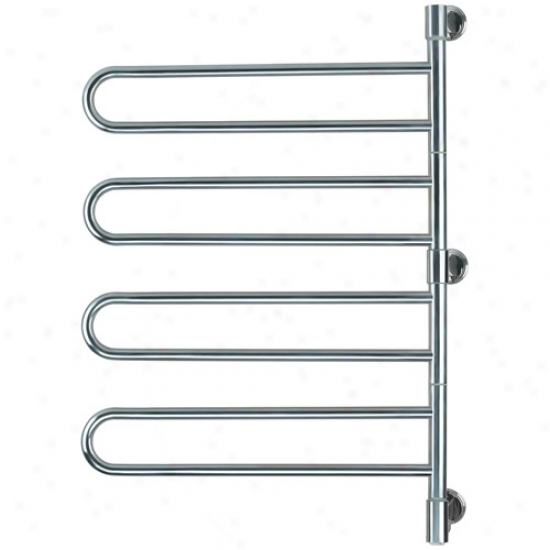 Amba Swivel Mounted Towel Warmer W/ 4 Bars