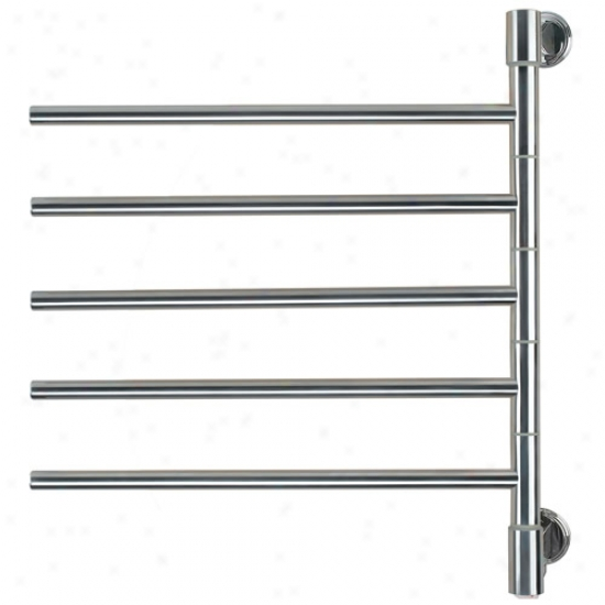 Amba Swivel Mounted Towel Warmer W/ 5 Crossbars