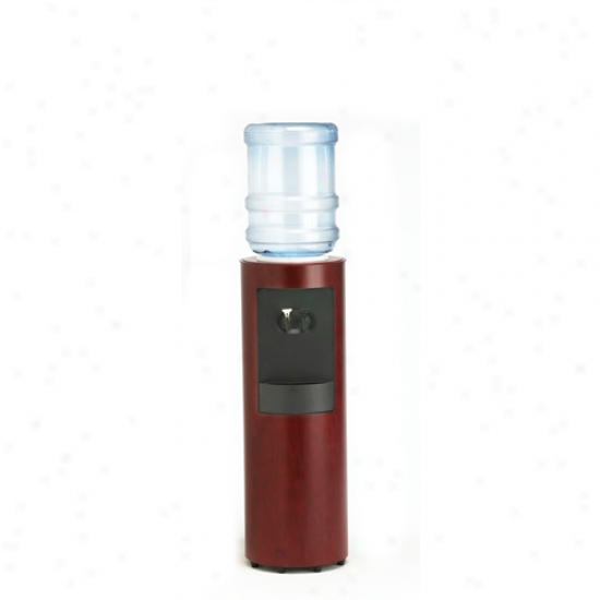Aquaverve Cima Mahogany Stained Cherry Wood Water Cooler