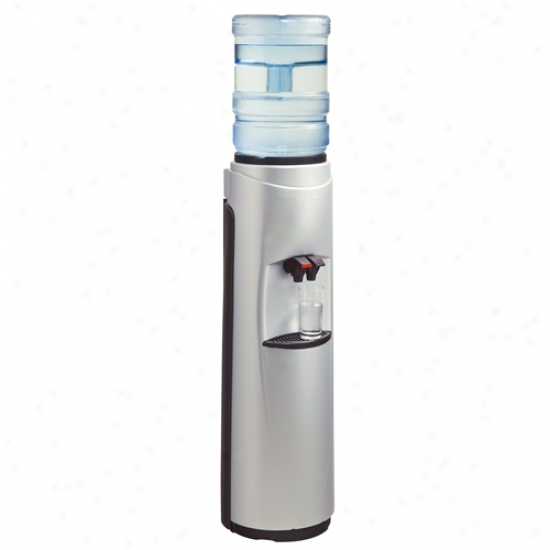 Aquaverve Pacifik Silver W/ Black Trim Water Cooler
