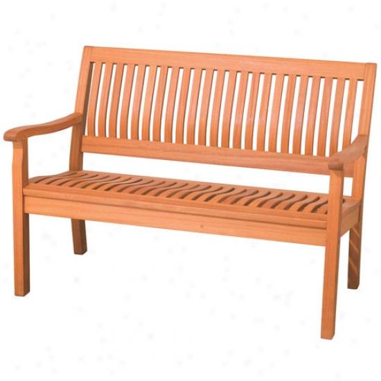 Arboria Kapur Wood 4'_Serenity Bench