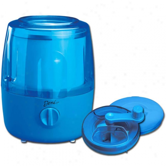 Automatic Ice Cream Maker - Blueberry W/candy Crusher