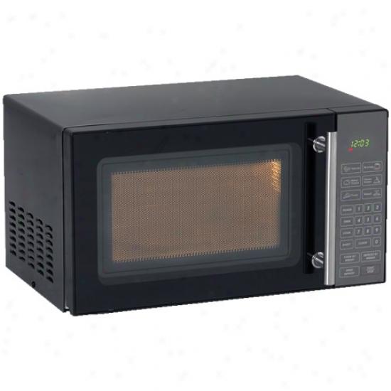 Avanti 0.8 Cubic Fot Black Microwave Oven