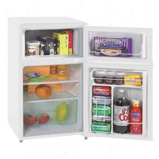 Avanti 3.1 Cu. Ft. Two Door Counterhigh Refrigerator