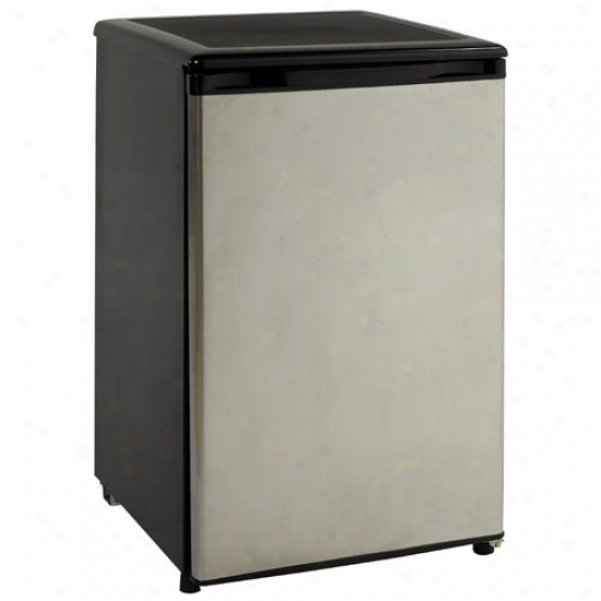 Avanti 4.5 Cu Ft Counterhigh Refrigerator - Stainless Steel