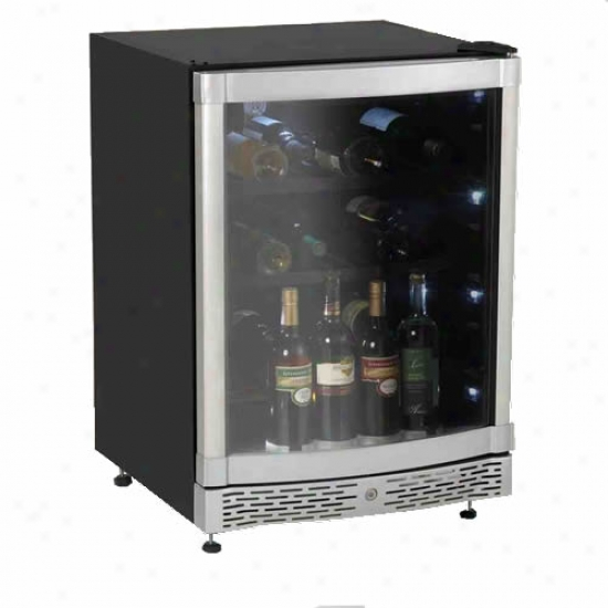 Avanti 48 Bottle Built-in Wine Cooler W/ Curve Door