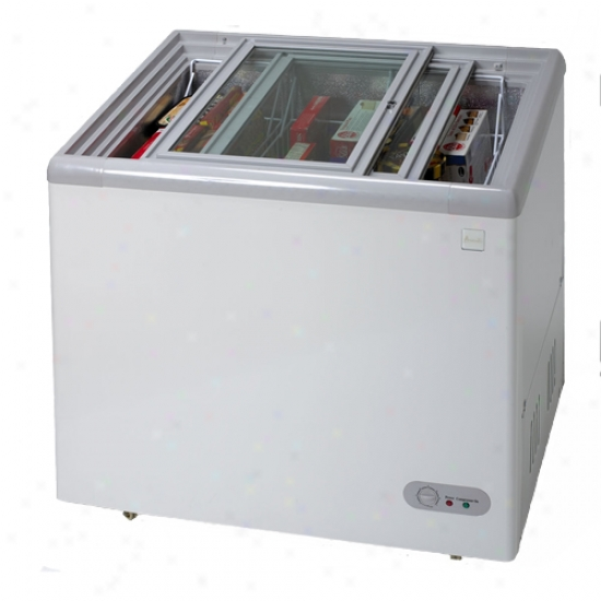 Avanti 7.4 Cu. Ft. Glass Top Chest Freezer