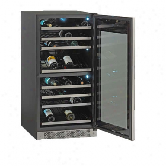 Avanti 85 Bottle Wine Cooler With Stainless Steel Door