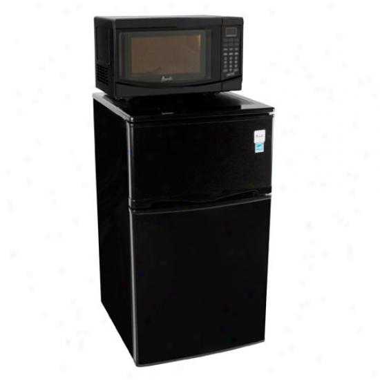 Avanti Micrlwave / Refrigerator Combo, Black
