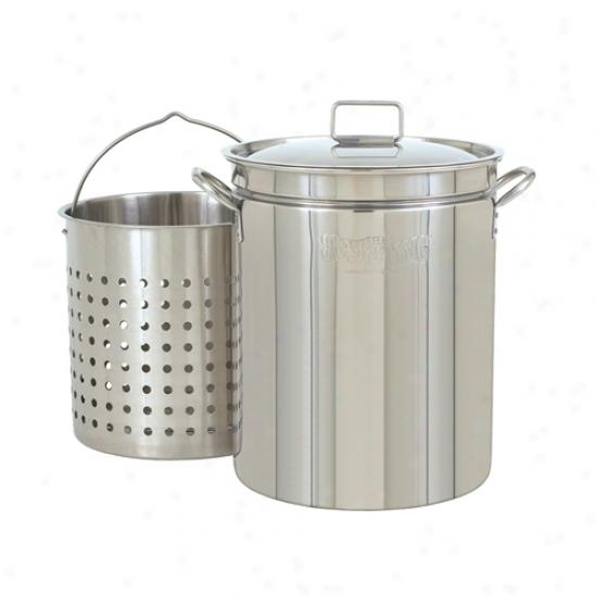 Bayou Clasdic Fryer/steamer W/ Lid And Basket