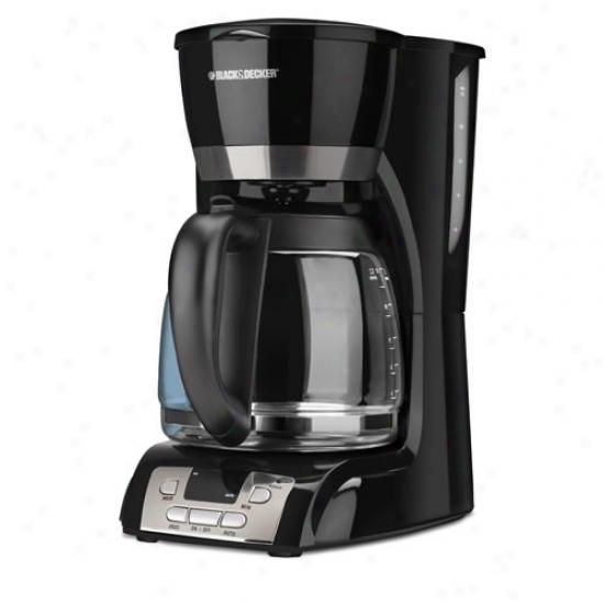 Black & Decker 12 Cup Programmable Coffeemaker