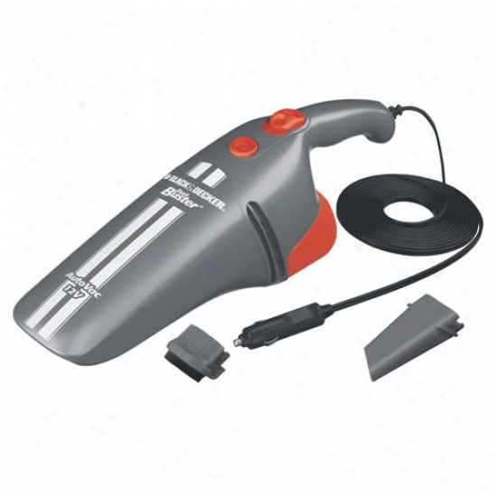 Black & Decker 12 Volt Auto Vacuum