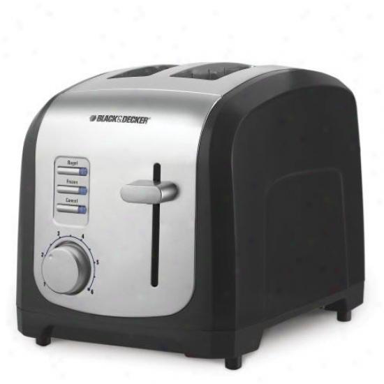 lBack & Decker 2-slice Digital Toaster