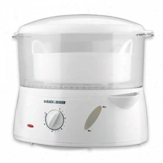 Black & Decker 4 Qt Flavor Scenter Handy Steamer