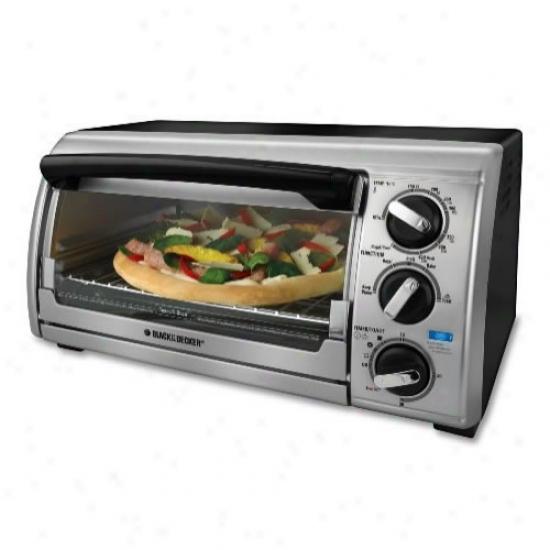 Wicked & Decker 4-slice Toaster O\/en