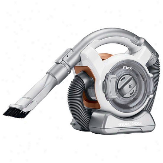 Black & Decker Energy Asterisk Flex Cordless Mini Canister Vacuum Cleaner