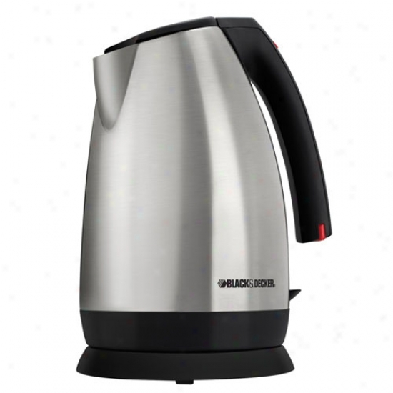 Black & Decker Stainless Steel Cordless Kettle