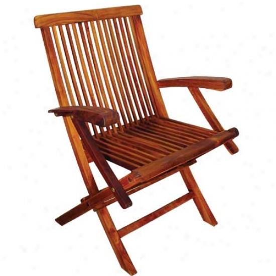Blue Star Group Terrace Mates Plait Arm Chair (set Of 2)