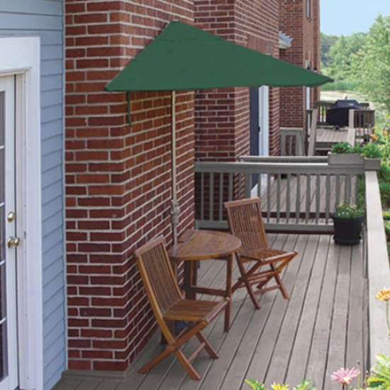 Blue tSar Group Terrace Matee Villw Premium 9 Ft. Sunbrella Set