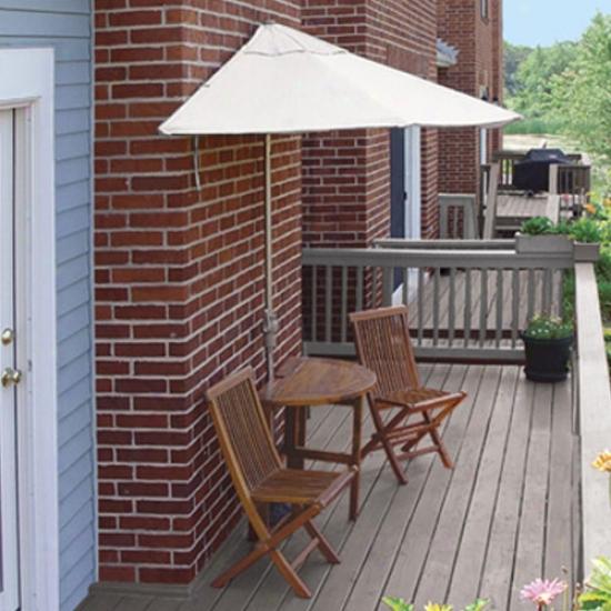 Blue Star Group Terrace Mates Villa Standard 9 Ft. Olefin Set