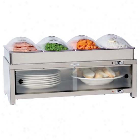 Broil King Family Size Quadruple Buffet Warming Cabinet