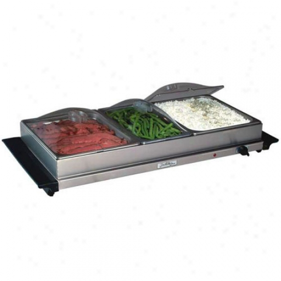 Broil King Professional 3 Pan Cupboard Server
