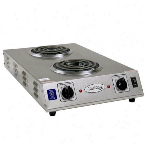Broil King Professional Double Burner Space Saver Range - Stainless Steel