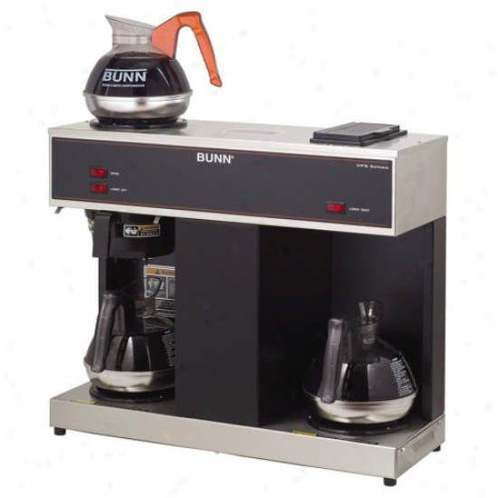Bunn 12 Cup Pourover Commercial Coffee Brewer With 3 Warmers
