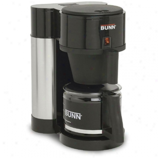 Bunn Contemporary 10-cup Home Coffee Brewer - Black