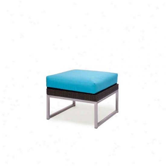 Caluco Mirabella Sunbrella Cushion For Ottoman - True Blue