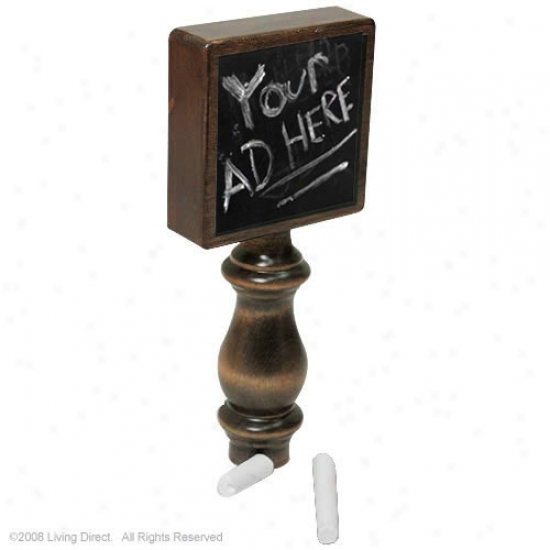 Chlakboard Beer Tap Handle