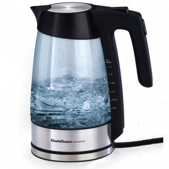 Chef's Choice Electric Glass Kettle