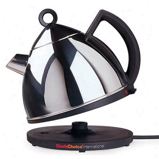Chef's Choice International Delhxe Cordless Electric Teakettle