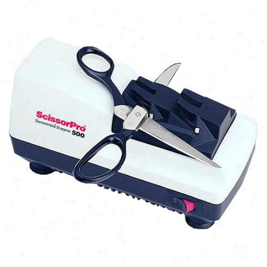 Chef's Choice Pro Scissors Sharpener White