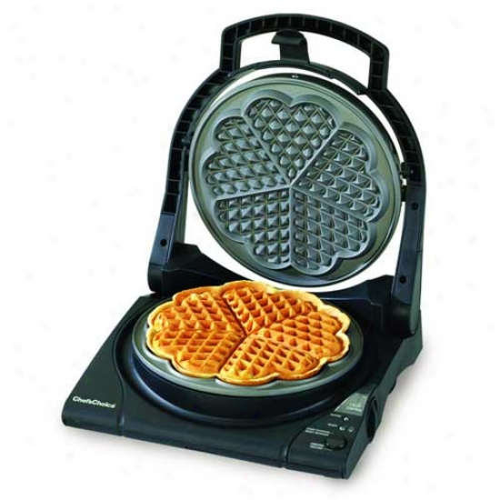 Chef's Choice Waffle Pro Five Of Hearts Deluxe Waffle Maker