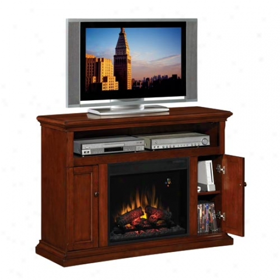 Classic Flame Cannes Electric Fireplace Entertainment Center