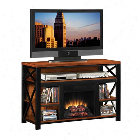 Classic Flame Equinox Electric Fireplace Entertainment Center