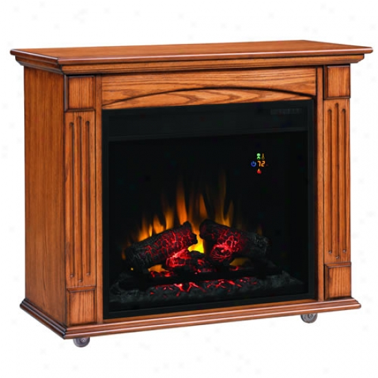 Classic Flame Lancaster 23  Roll Away Electric Fireplace