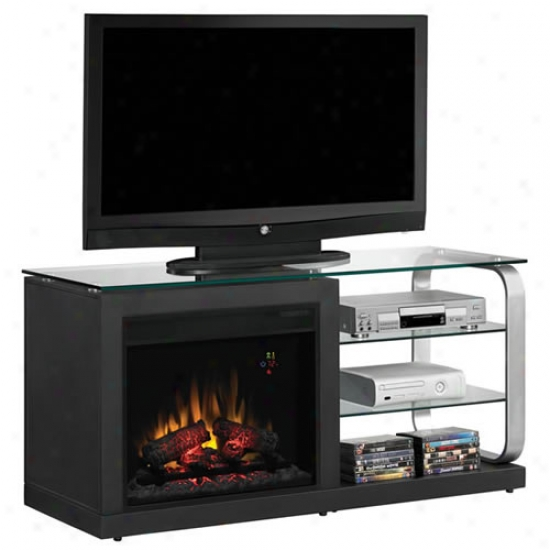 Classic Flame Luxe Dual Entertainment Center/electric Fireplace