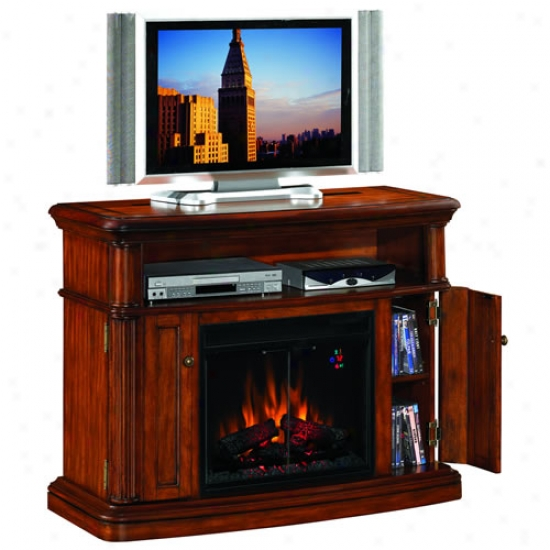 Classuc Flame Mapleton Fireplace/entertainment Center